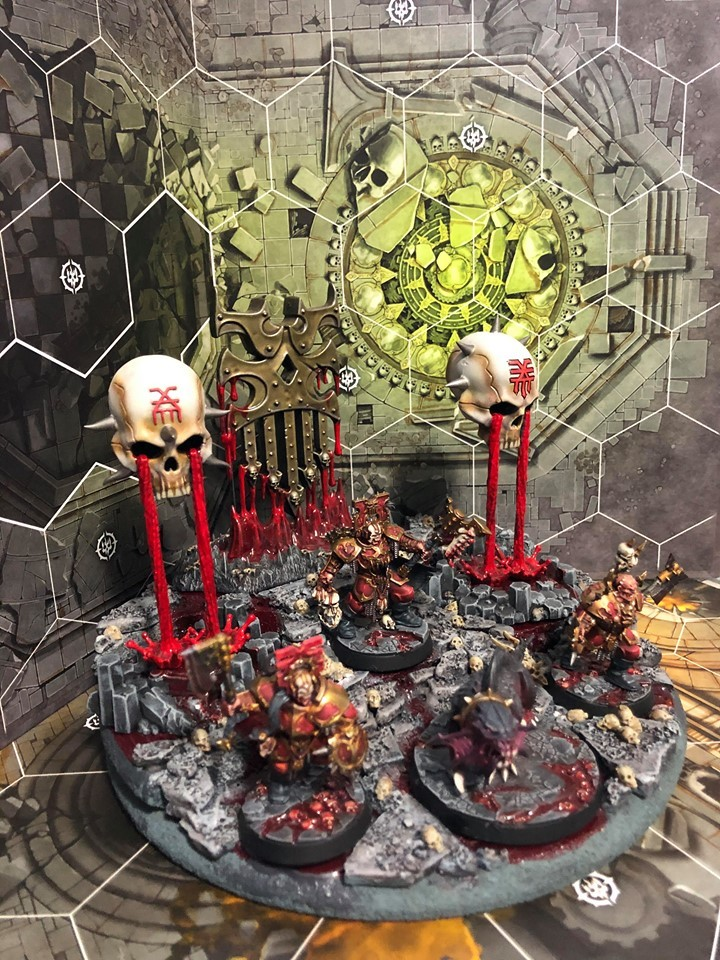 Derek's Magore's Fiends and Scenic Base
