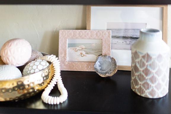A Coastal Blush and White Santa Barbara Living Room Reveal