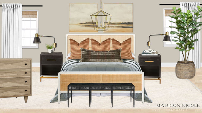 A Shoppable Guest Room