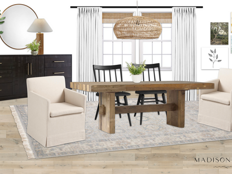 A Shoppable Dining Room