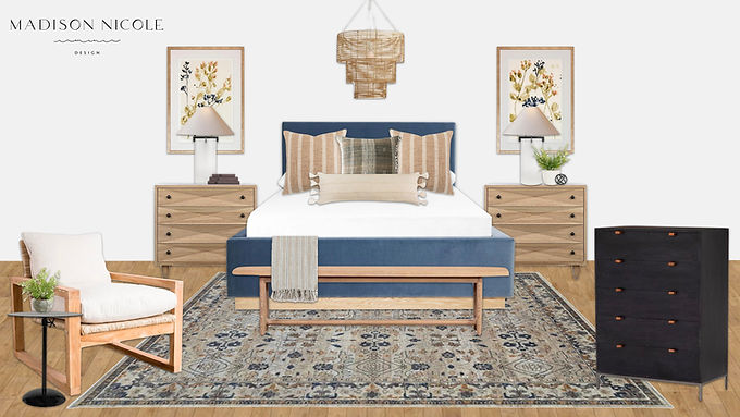 A Shoppable Master Bedroom