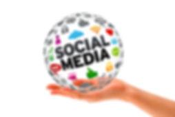 Social Media Sphere Graphic