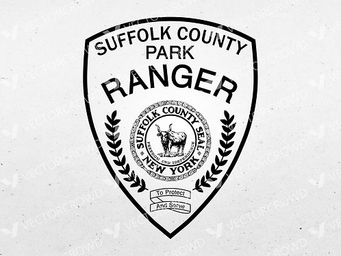 Suffolk County New York Park Ranger Patch | VectorCrowd
