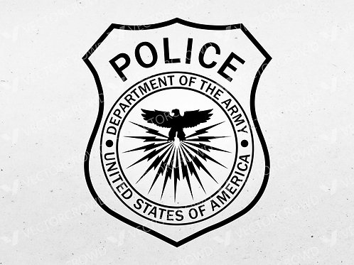 Department of Army Police Patch | VectorCrowd