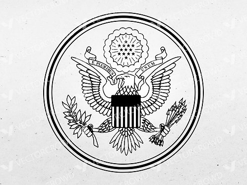 Great Seal of the United States | Vector Images
