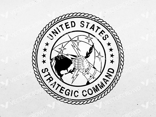 United States Strategic Command Seal | SVG Cut File