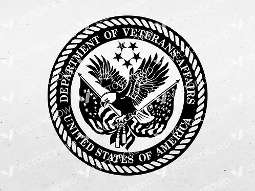 US Department of Veterans Affairs Logo | SVG Cut File
