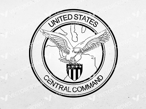 US Central Command Logo | SVG Cut File