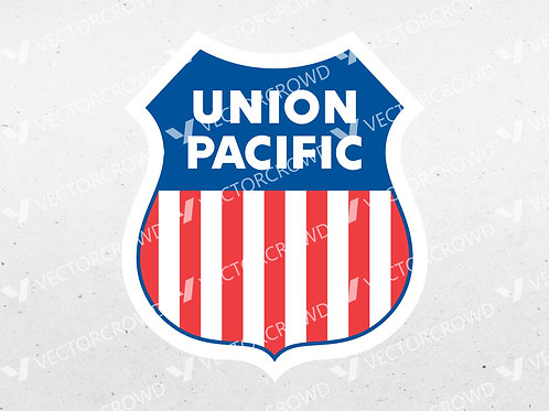 Union Pacific Railroad Logo | SVG Cut File
