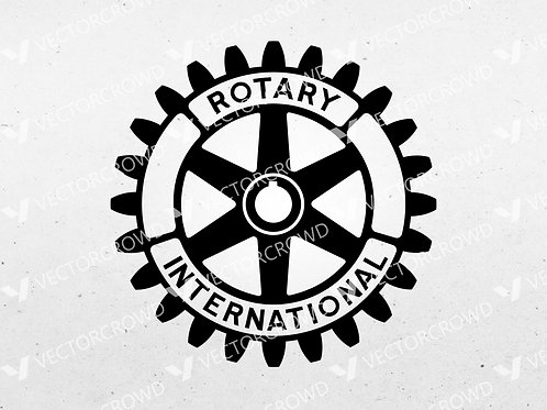 Rotary International Logo | SVG Cut File