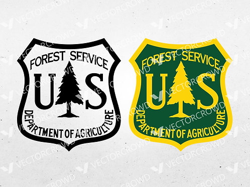 US Forest Service Seal | SVG Cut File