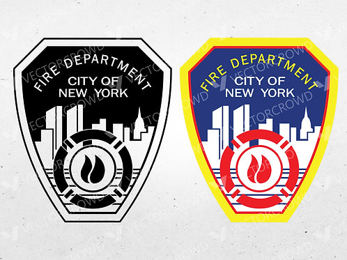 FDNY New York Fire Department Logo | Vector Images | VectorCrowd