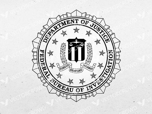 FBI Seal | SVG Cut File