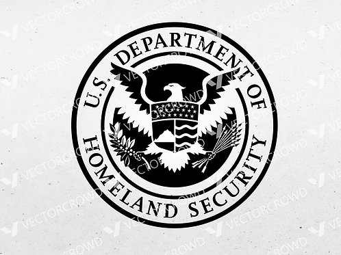 DHS Department of Homeland Security Seal | SVG Cut File