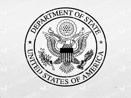 Department of State Seal | SVG Cut File