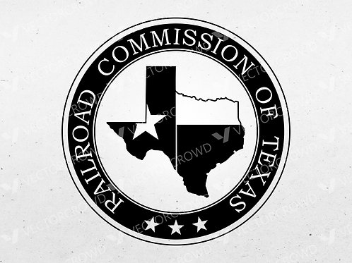 Texas Railroad Commission Seal | Vector Images | VectorCrowd