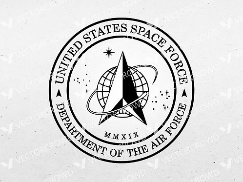 Space Force Seal | SVG Cut File