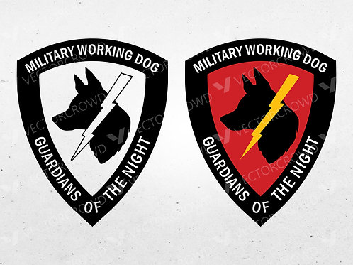 Military Working Dog Logo | Vector Images | VectorCrowd