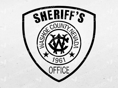 Washoe County NV Sheriff's Department Patch | VectorCrowd