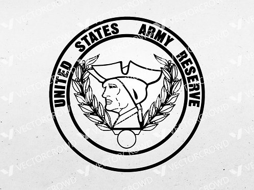 United States Army Reserve Seal   SVG Cut File