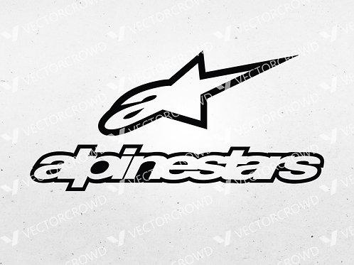 Alpinestars Motorsport Company Logo | SVG Cut