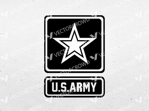 US Army Logo Star | SVG Cut File