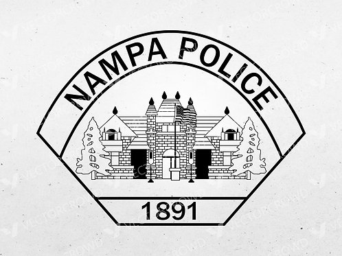 Nampa Idaho Police Department Logo | VectorCrowd