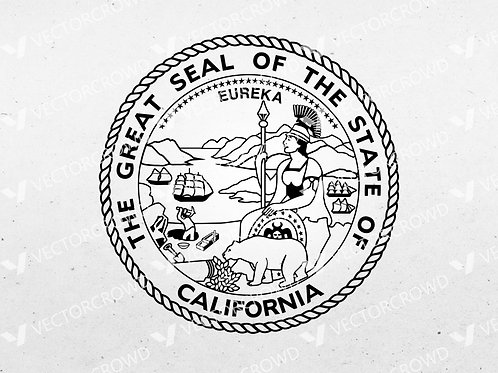 California State Great Seal | SVG Cut File