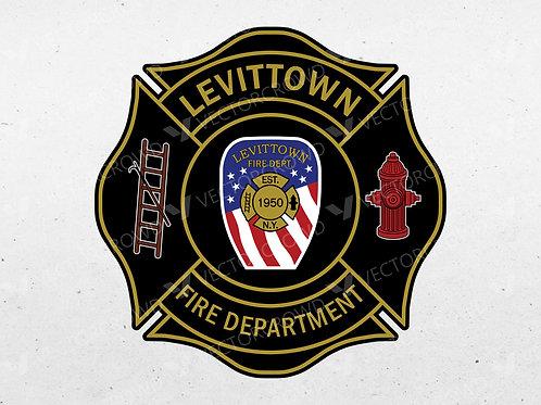 Levittown New York Fire Department Logo | VectorCrowd