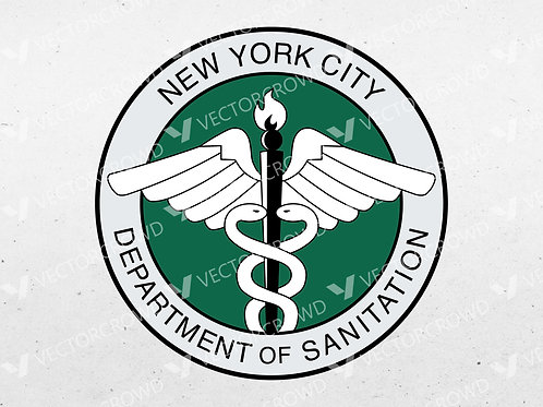 NYC Department of Sanitation Seal | Vector Images