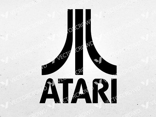 Atari Games Emblem Logo  | SVG Cut File