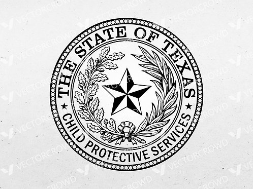 Texas Department of Child Protective Services Seal | VectorCrowd