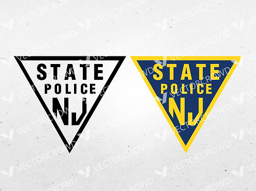 New Jersey State Police Department Seal | SVG Cut File