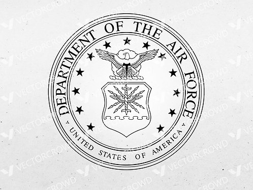 U.S. Air Force Seal USAF Insignia | SVG Cut File