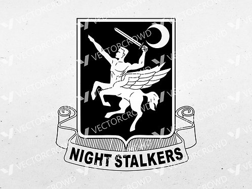 160th Special Operations Aviation Regiment Logo  | SVG Cut File