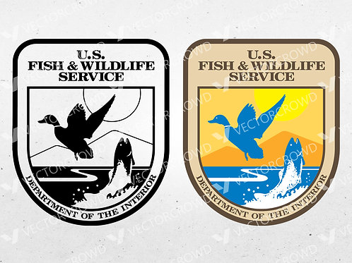 US Fish and Wildlife Service Logo | Vector Images | VectorCrowd