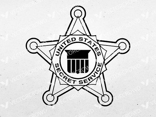 United States Secret Service Emblem | SVG Cut File