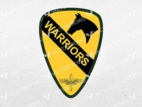 1st Air Cavalry Brigade Unit Insignia | SVG Cut File
