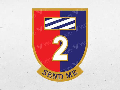 2nd Armored Brigade Combat Team, 3rd Infantry Division | Vector Images | VectorCrowd