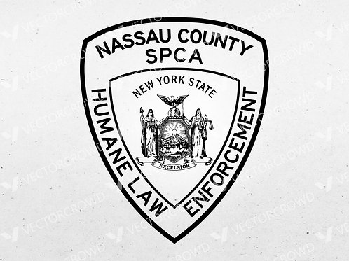 Nassau County New York SPCA Law Enforcement Logo | VectorCrowd