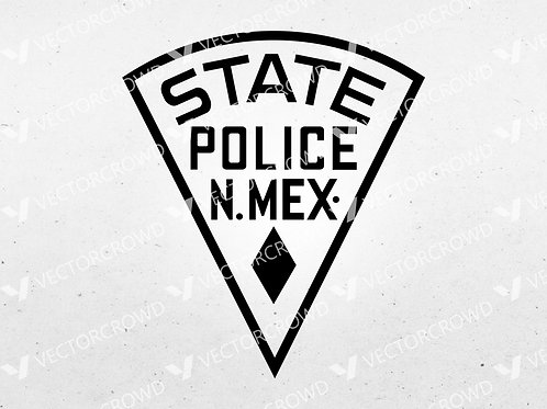 New Mexico State Police Seal | SVG Cut File