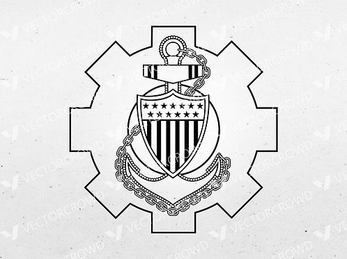 Coast Guard MKC Emblem | Vector Image