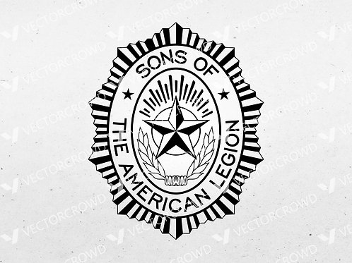 Sons of the American Legion Logo | SVG Cut File