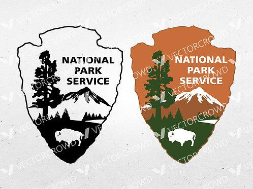 National Park Service Logo | SVG Cut File