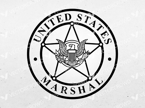United States Marshals Service Logo | SVG Cut File
