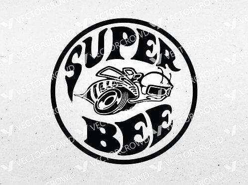 Dodge Super Bee Logo | SVG Cut