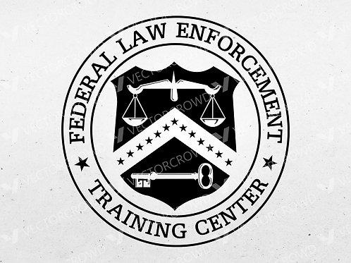 Federal Law Enforcement Training Center Logo | SVG Cut File