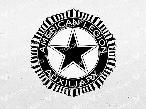 American Legion Auxiliary Logo | SVG Cut File
