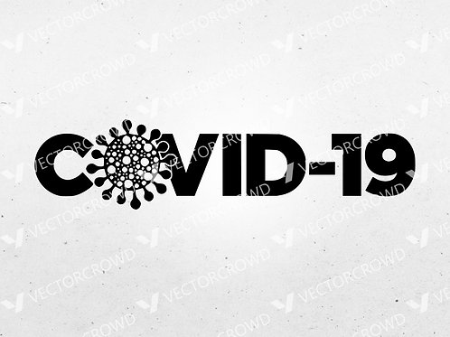 Covid-19 Logo  | SVG Cut File