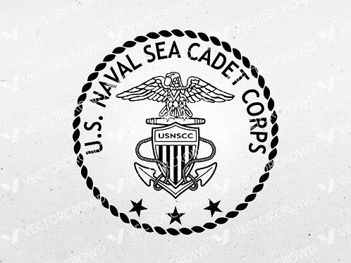 US Naval Sea Cadet Corps Seal | SVG Cut File